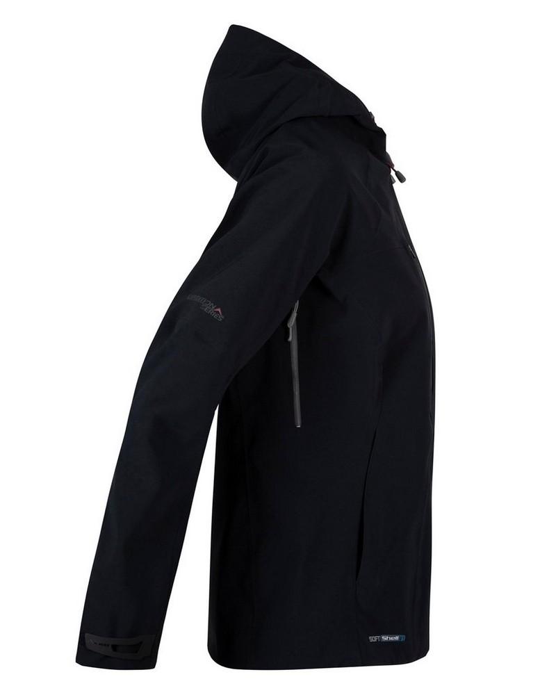 K-Way Women's Kili'19 Softshell Jacket -  black-berry