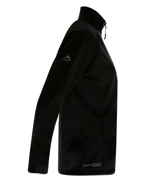 K-Way Women's Mira'19 Softshell Jacket -  black
