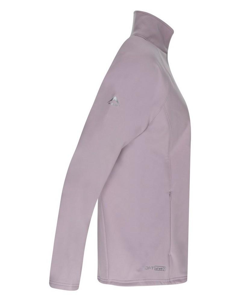 K-Way Women's Mira'19 Softshell Jacket -  dustypink