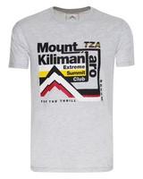 K-Way Men's Mount Kilimanjaro S19.3 T-Shirt -  silvergrey