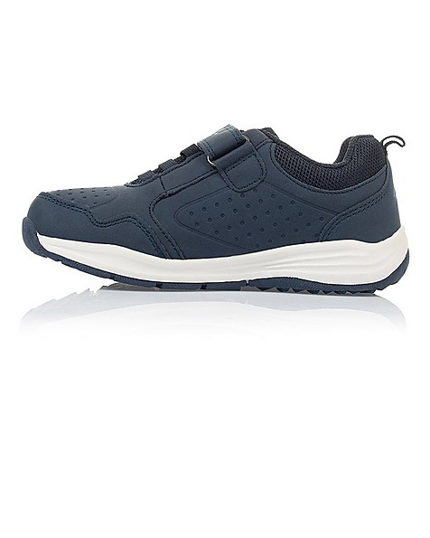 K-Way Youth Tracer Shoes -  navy-blue