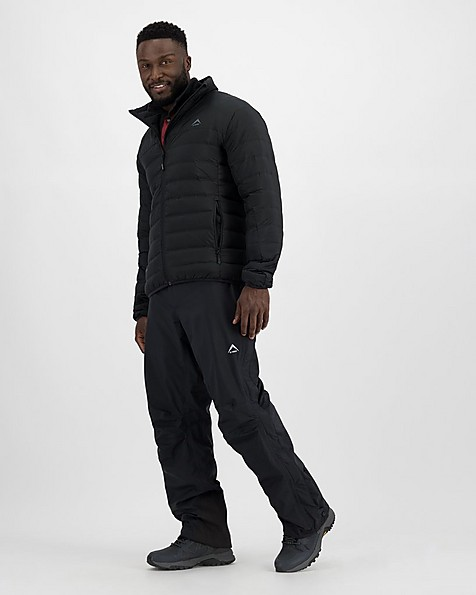 K-Way Men's Tempo Shell Pants -  black
