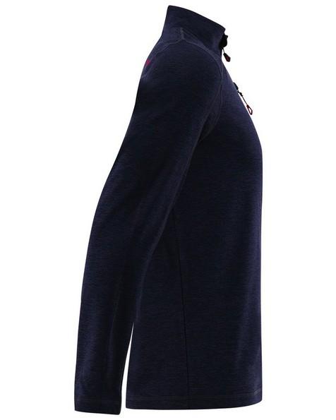 K-Way Men's Clash '19 1/4 Zip Fleece -  black-red