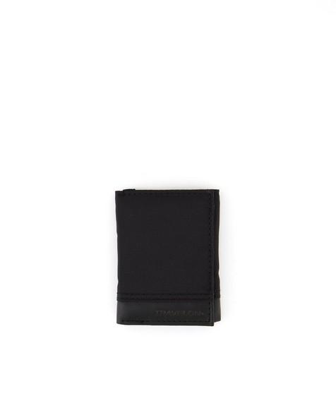 Travelon RFID Blocking Classic Trifold Wallet -  black