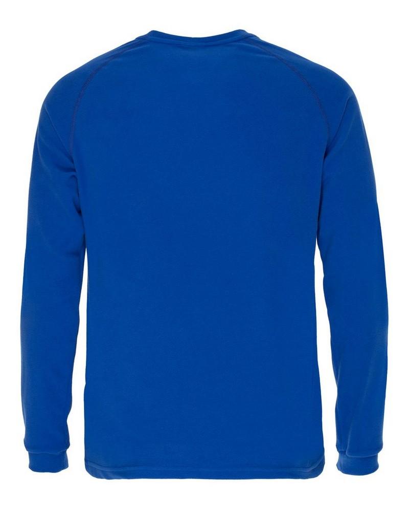 K-Way Men's Straus '19 Crewneck Fleece  -  blue