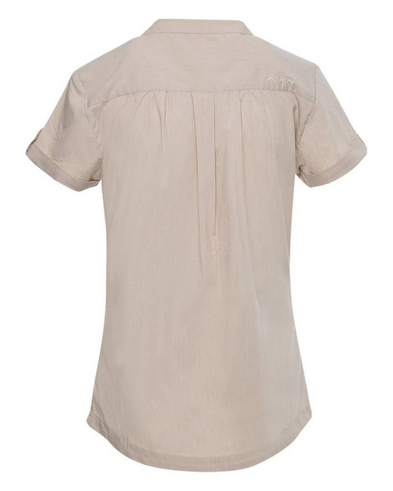 K-Way Women's Robyn Short Sleeve Shirt  -  stone