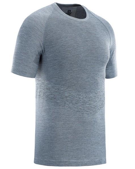 Salomon Men's Allroad Short Sleeve Tee -  lightgrey