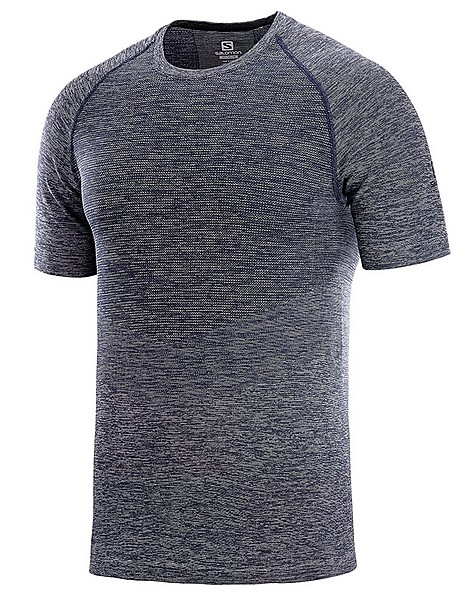 Salomon Men's Allroad Short Sleeve Tee -  darkcharcoal