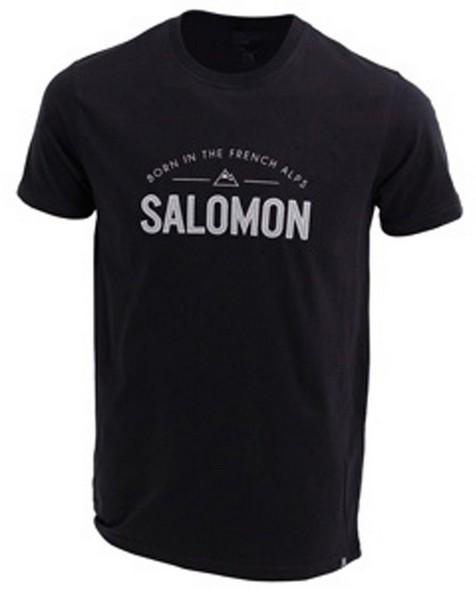 Salomon Men's Develop Short Sleeve Tee -  black