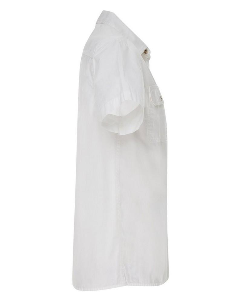 CU & Co Men's Pete Shirt -  white