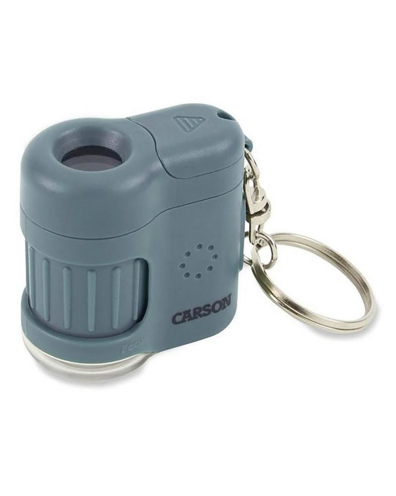 Carson 20x Micromini Pocket Microscope -  blue