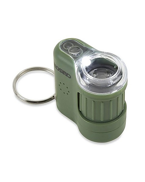 Carson 20x Micromini Pocket Microscope -  green