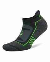 Balega Blister Resist No Show 19 sock -  black-green