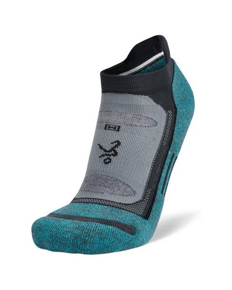 Balega Blister Resist No Show 19 sock -  blue-grey