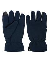 K-Way Unisex Carmelo Wool Gloves -  navy