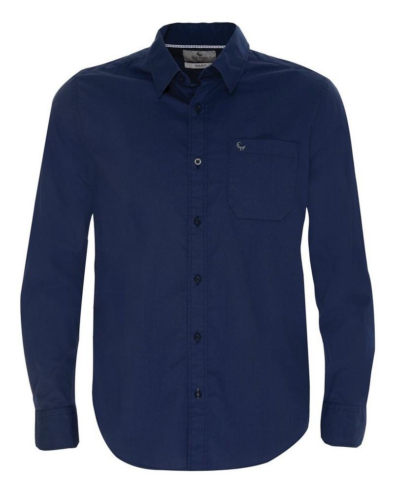 Old Khaki Men's Andy 2 Regular Fit Shirt  -  navy