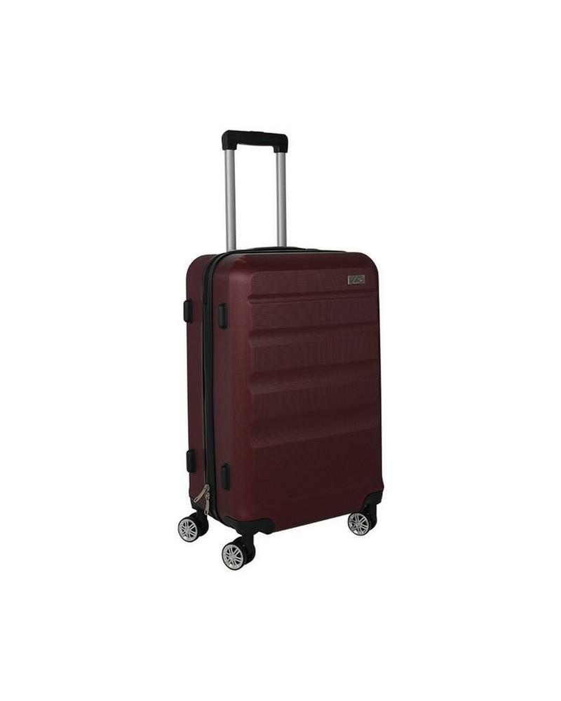 K-Way Spinner 2 Small Luggage Bag -  burgundy