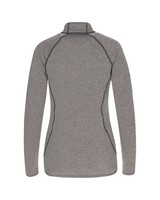 K-Way Women's Iska 1/4 Zip Fleece  -  charcoal