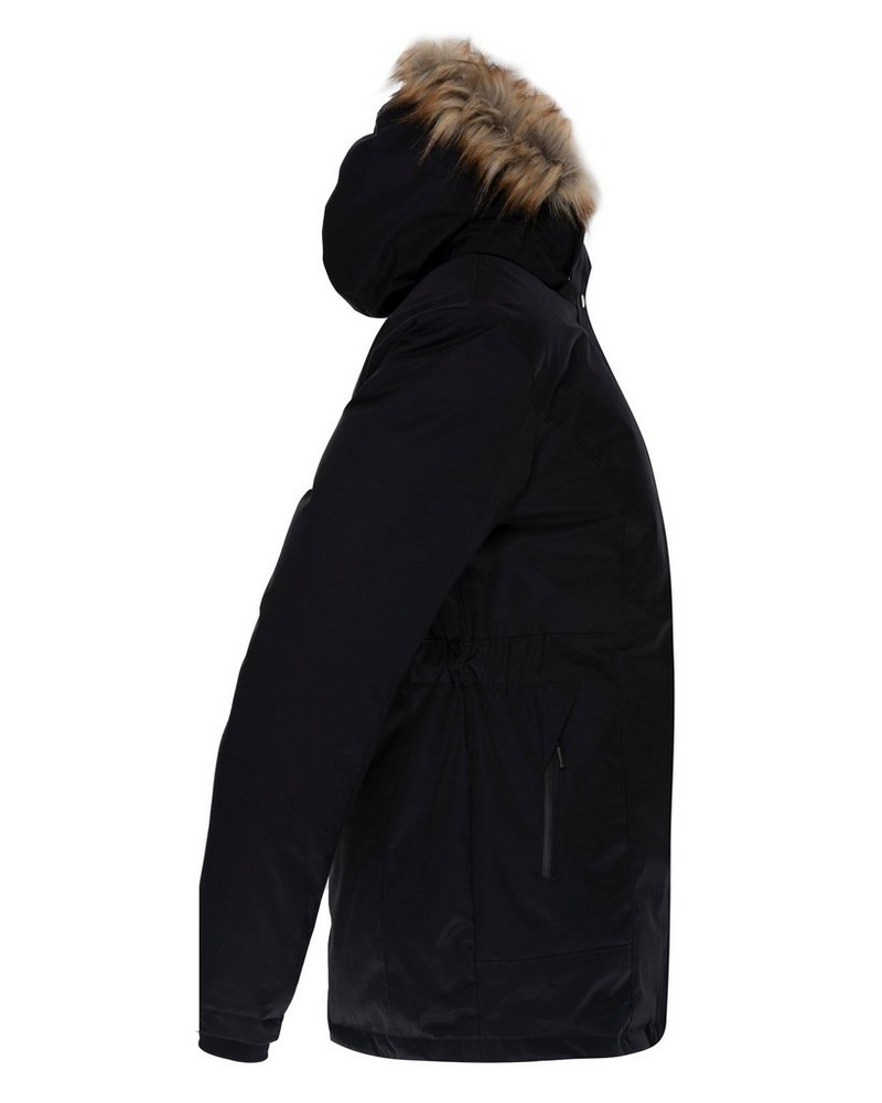 K-Way Women's Andee Padded Coat -  black-plum