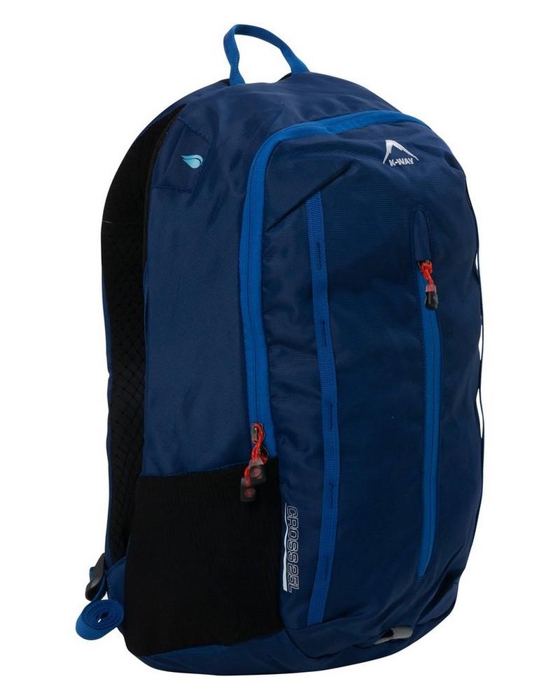 K-Way Cross 25L Daypack -  blue