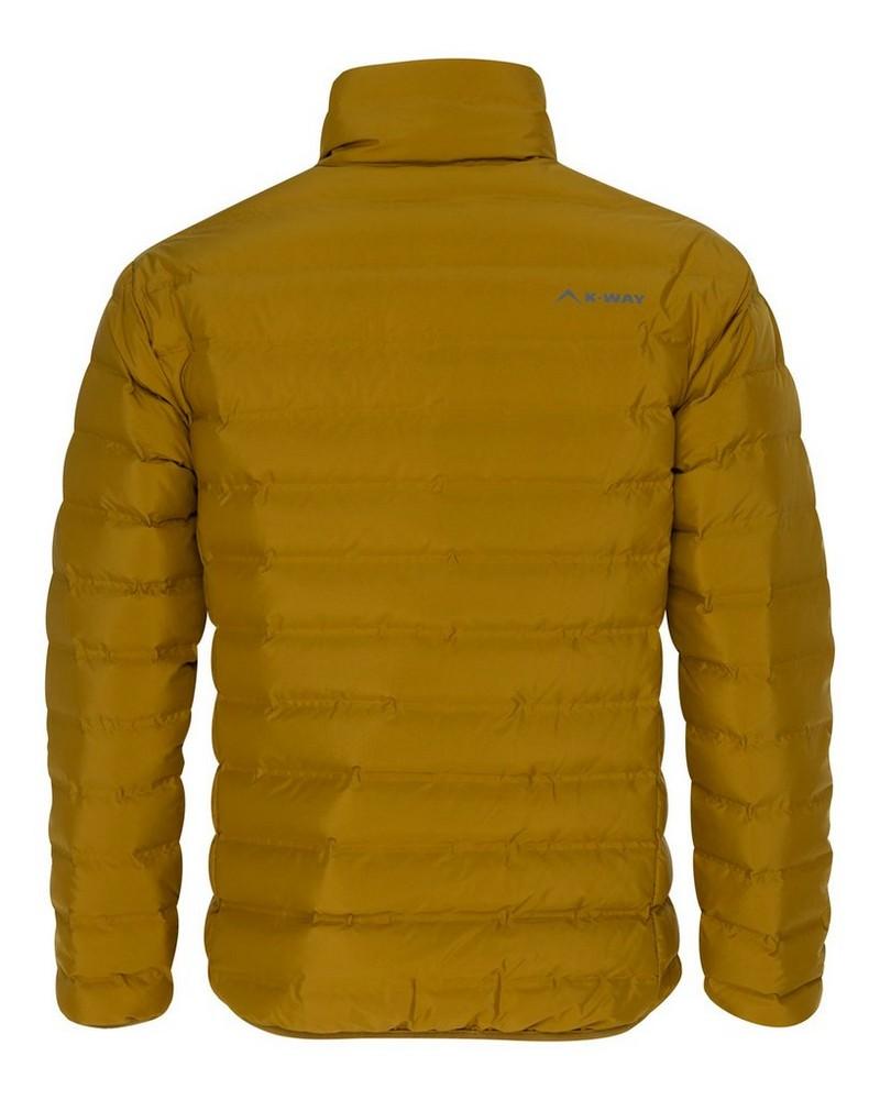 K-Way Men's Rio Re:Down Jacket -  mustard