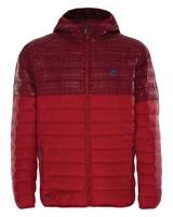 K-Way Men's Railey Down Jacket -  darkred-red