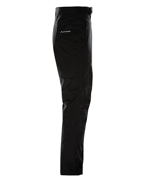 K-Way Men's Hail Shell Trouser -  black