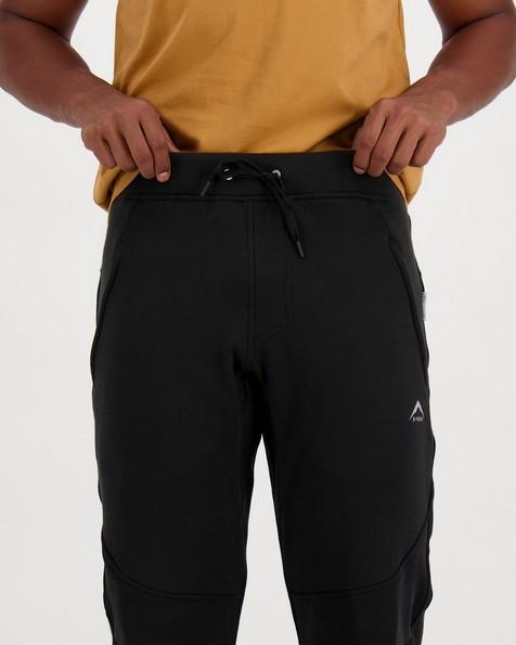 K-Way Men's Keene Track Pants -  black