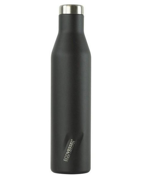 Ecovessel Aspen 750ml Flask -  black