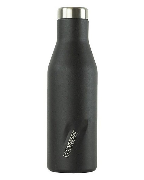 EcoVessel Aspen 473ml Flask -  black