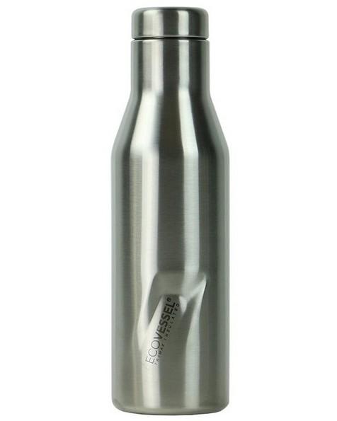 EcoVessel Aspen 473ml Flask -  silver