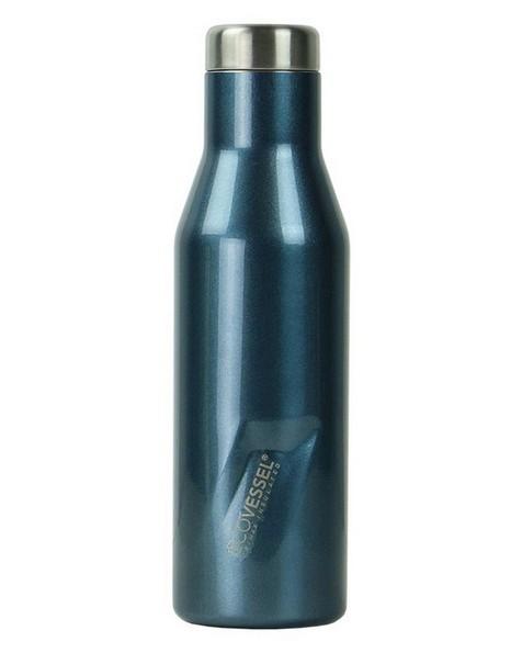 EcoVessel Aspen 473ml Flask -  blue