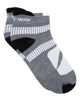 K-Way Active 19 sock -  grey-white