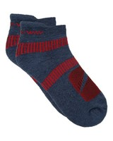 K-Way Active 19 sock -  midblue-red