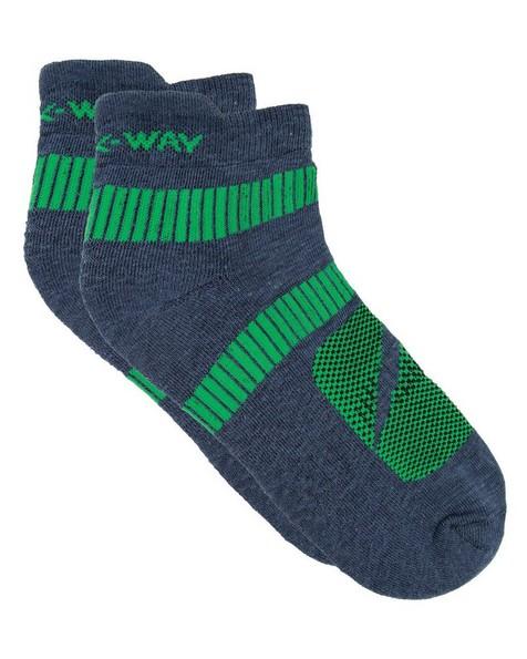K-Way Active 19 sock -  midblue-green