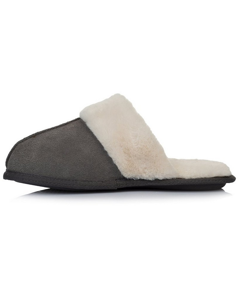 Rare Earth Tori Slipper Ladies -  grey-cream