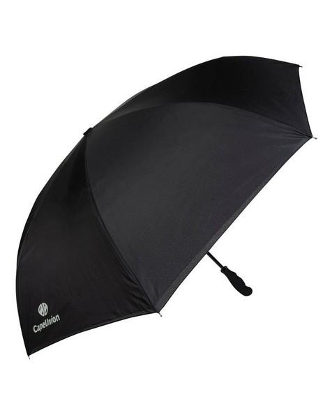 Cape Union Reversible Auto Open Umbrella -  black-white