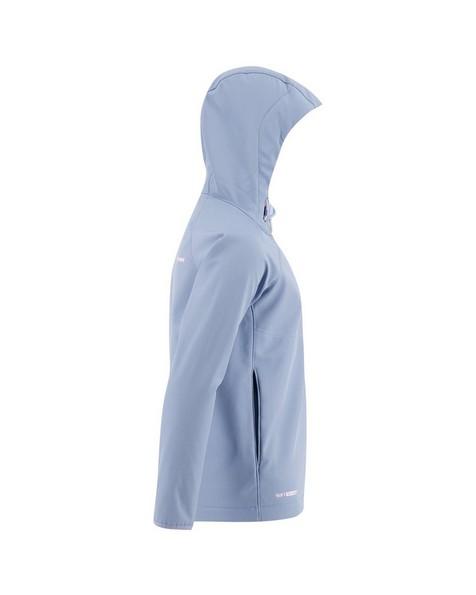 K-Way '19 Girls Ocelot 3-Ply Softshell Hoody -  cloudblue