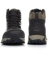K-Way Men's Edge 2 Boots -  black-khaki