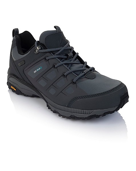 K-Way Men's Edge 2 Shoes -  grey-black