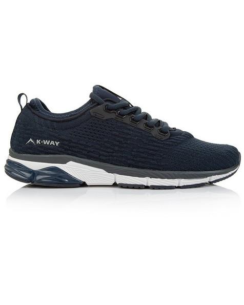 K-Way Men's Flex Lite 2 Shoes -  navy-white