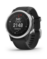 Garmin Fenix 6s Fitness Watch -  silver-black