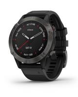 Garmin Fenix 6 Sapphire Multisport GPS Watch -  grey-black