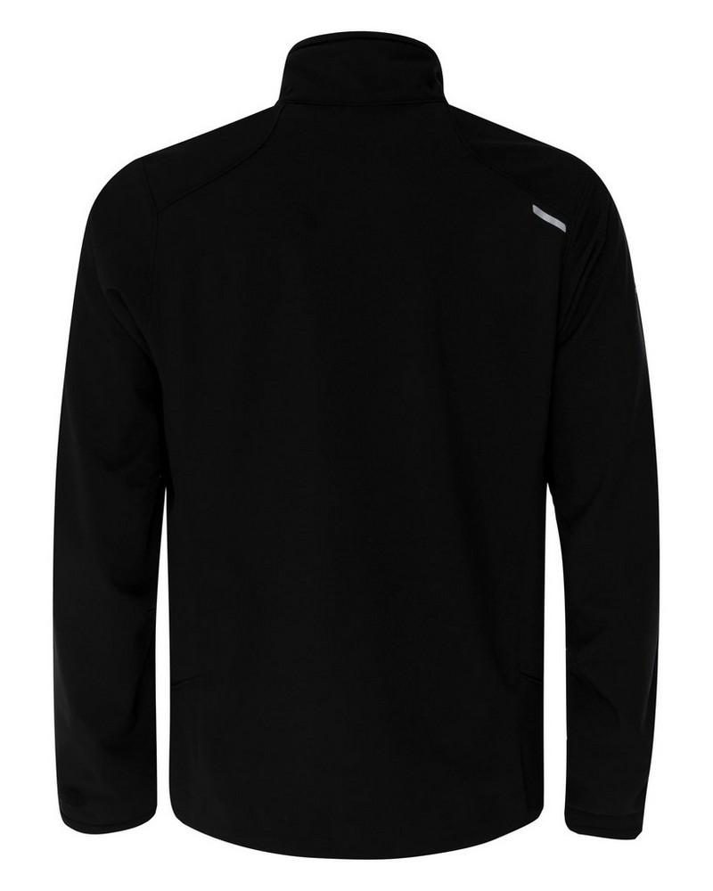 K-Way Men's Quest Eco Softshell Jacket -  black