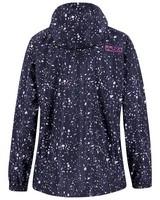 K-Way Printed Cloudburst Jacket Lds -  indigo-lightpink