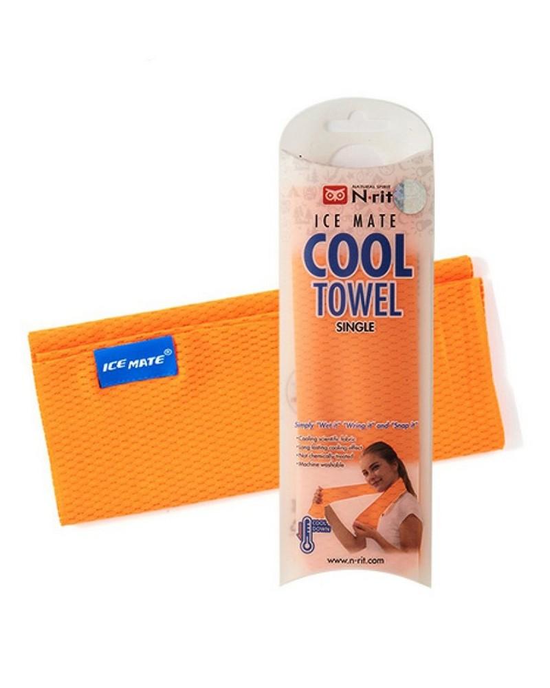 N-Rit SIngle Layer Cooling Ice Towel -  orange