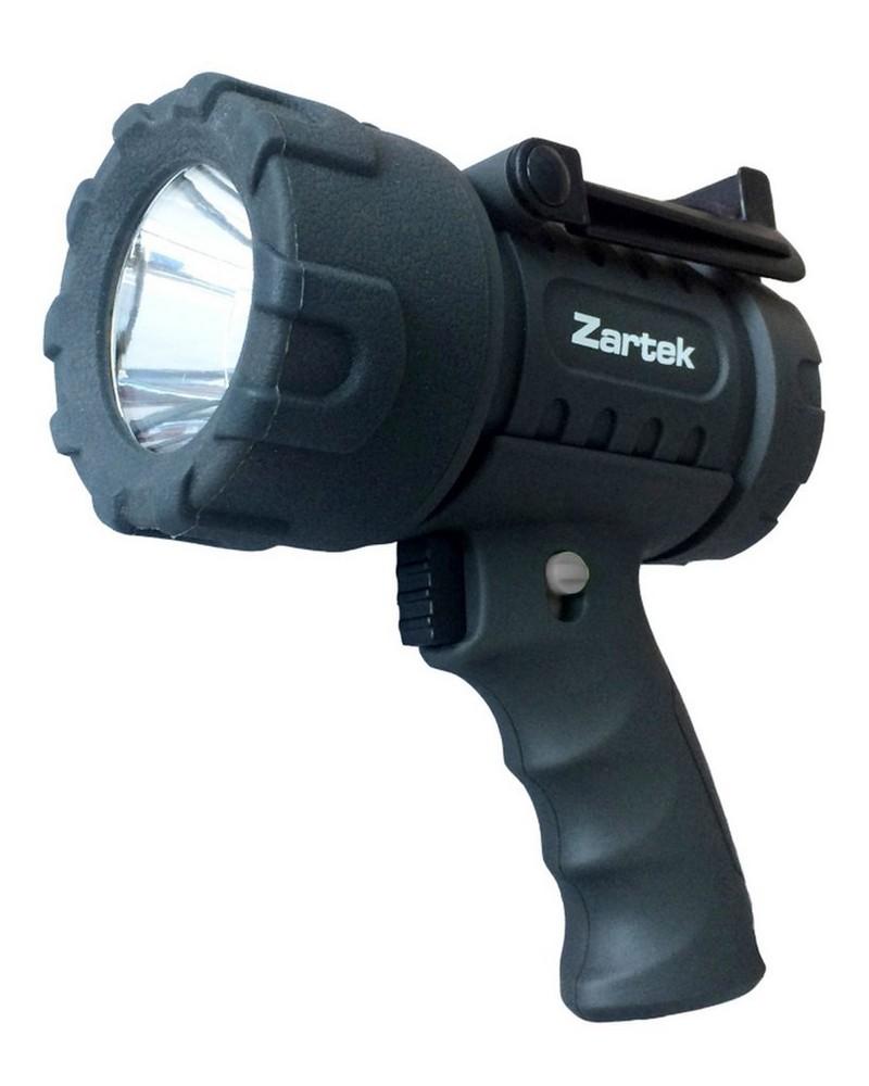 Zartek ZA461 Rechargeable Spotlight -  black