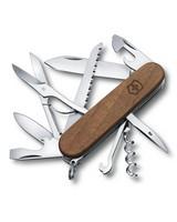 Victorinox Huntsman Wood Pocket Knife -  brown