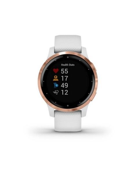 Garmin Vivoactive 4S Smartwatch -  white-rose