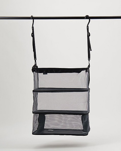 Travelon Deluxe Packable Shelves -  black